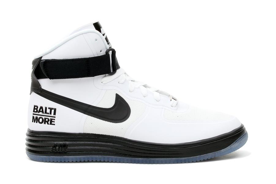 """Image of Nike Air & Lunar Force 1 Hi """"Baltimore"""" Pack"""