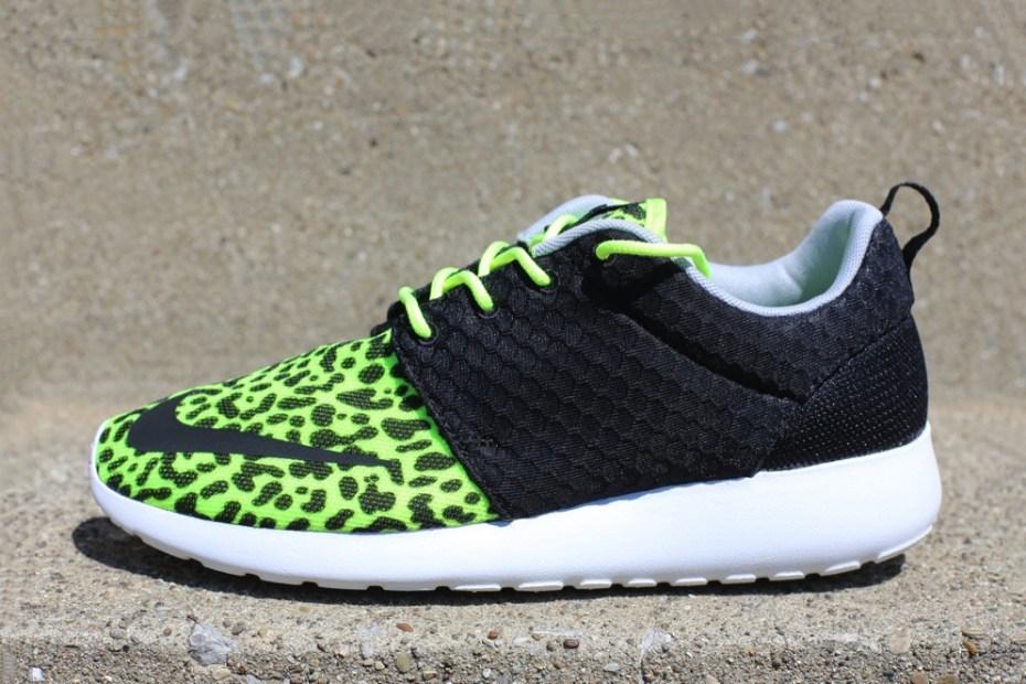 "Image of Nike Roshe Run FB ""Leopard"""