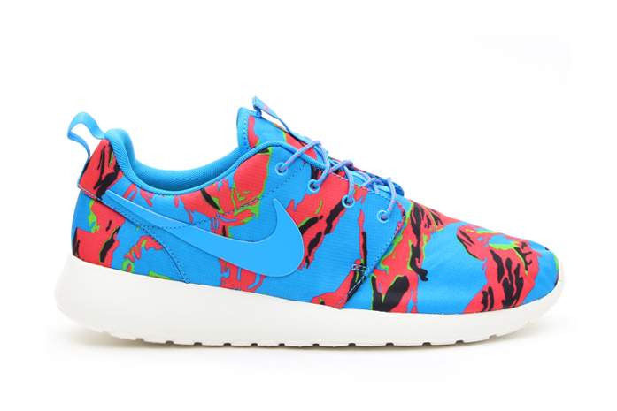 "Image of Nike Roshe Run GPX ""Blue Hero Tiger Camo"""