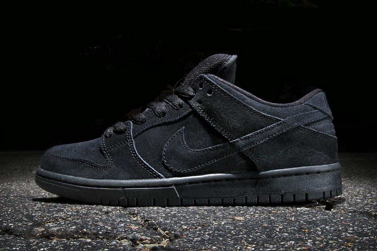 Image of Nike SB Dunk Low Pro Black/Black
