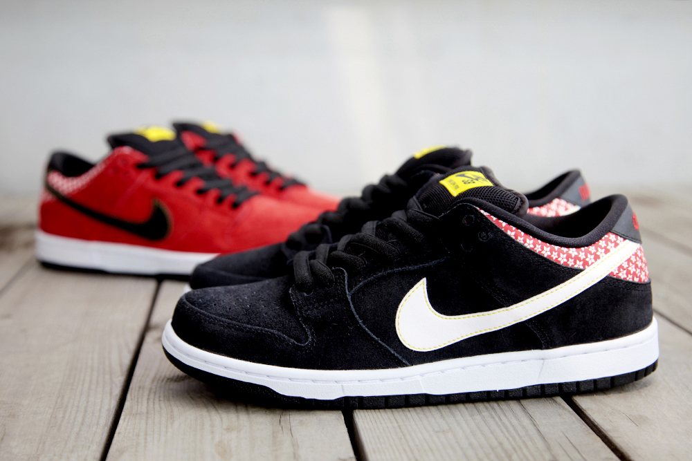 "Image of Nike SB Dunk Low Pro Premium QS ""Firecracker"" Pack"