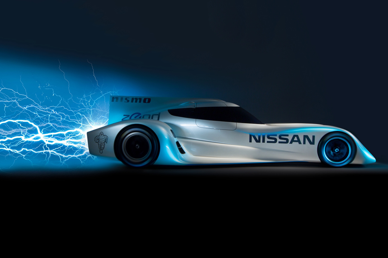 Image of Nissan Unveils the ZEOD RC, the World's Fastest Electric Race Car