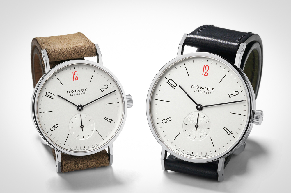 Image of NOMOS Releases Two Limited Edition Watches to Benefit Doctors Without Borders