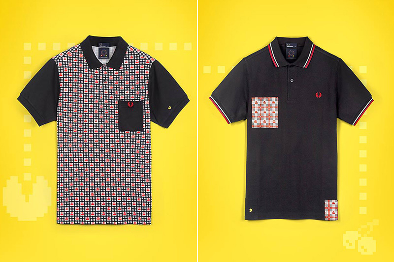 Image of PAC-MAN x ten_do_ten x Fred Perry 2013 Spring/Summer Collection