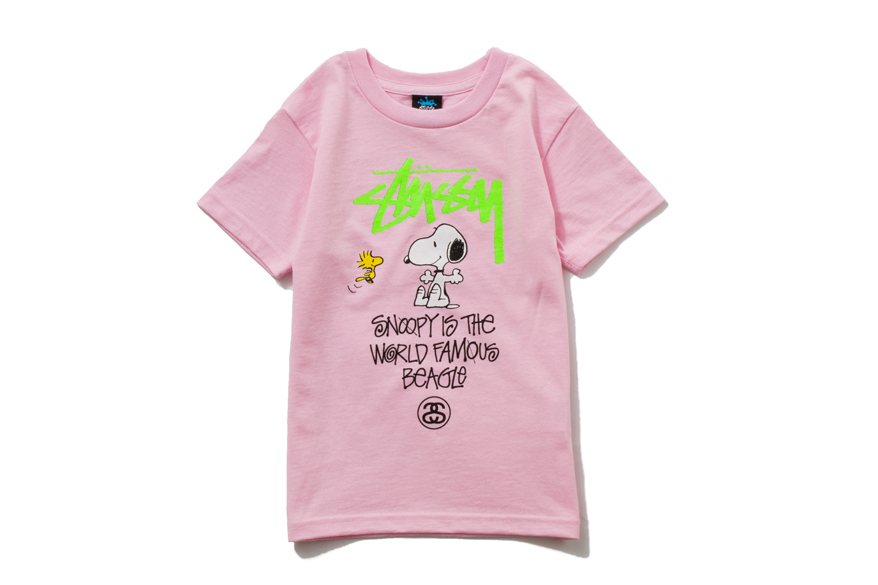 Image of Peanuts x Stussy Kids 2013 Spring/Summer Collection Drop 2