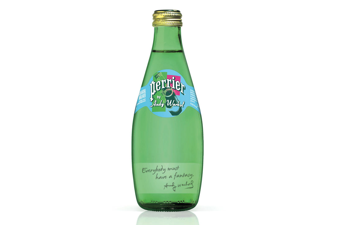 Image of Perrier Limited Edition Andy Warhol Bottles