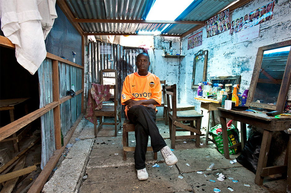 Image of A Photo Essay of West African Barbershops
