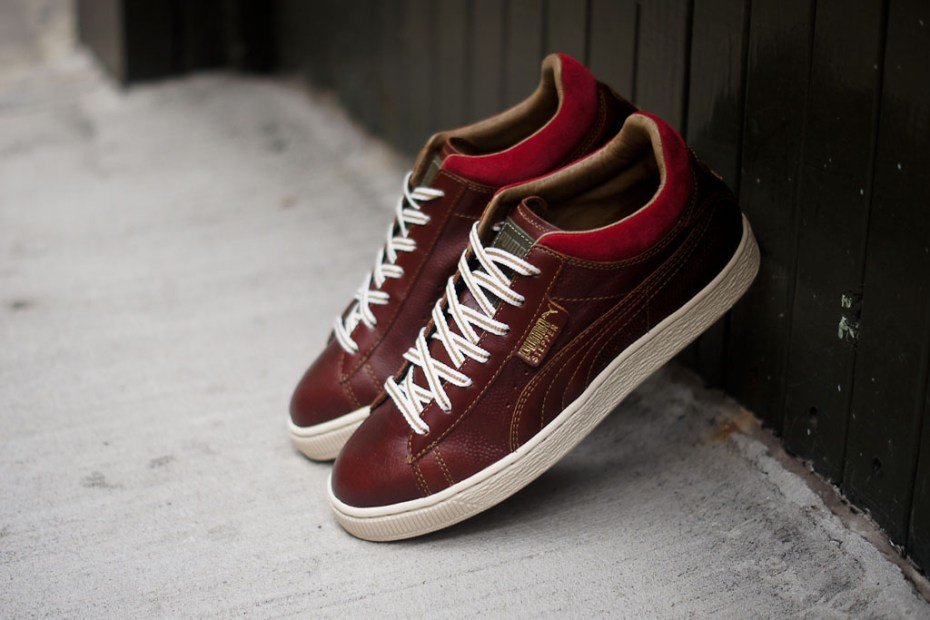 Image of PUMA Stepper Luxe Maroon