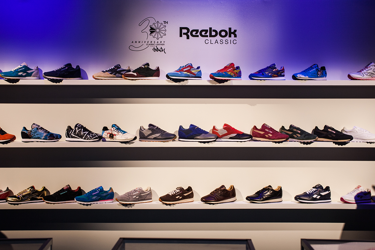 Image of Reebok Classic Leather 30th Anniversary Recap