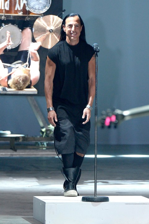 Image of Rick Owens 2014 Spring Collection