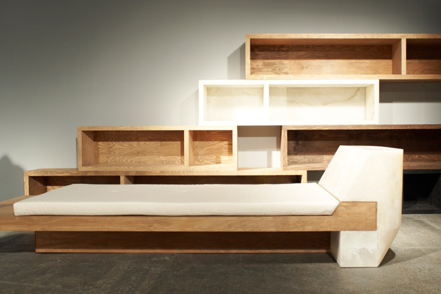 Image of Rick Owens Urban Minimalist Furniture Showing at Salon94