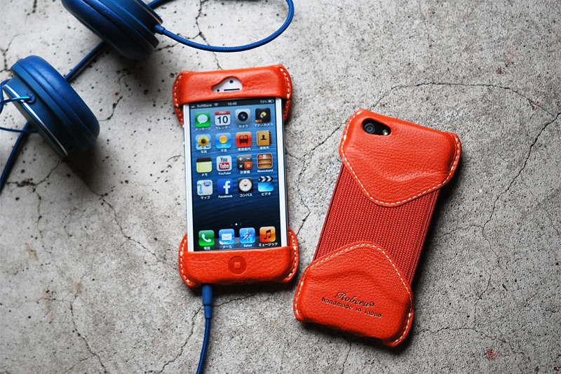 Image of Roberu Toscana Vachetta Leather iPhone 5 Case