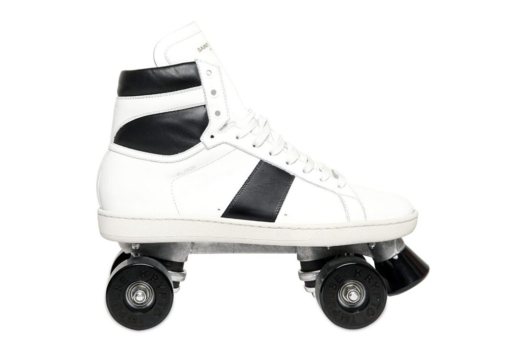 Image of Saint Laurent 2013 Fall/Winter Rollerskates