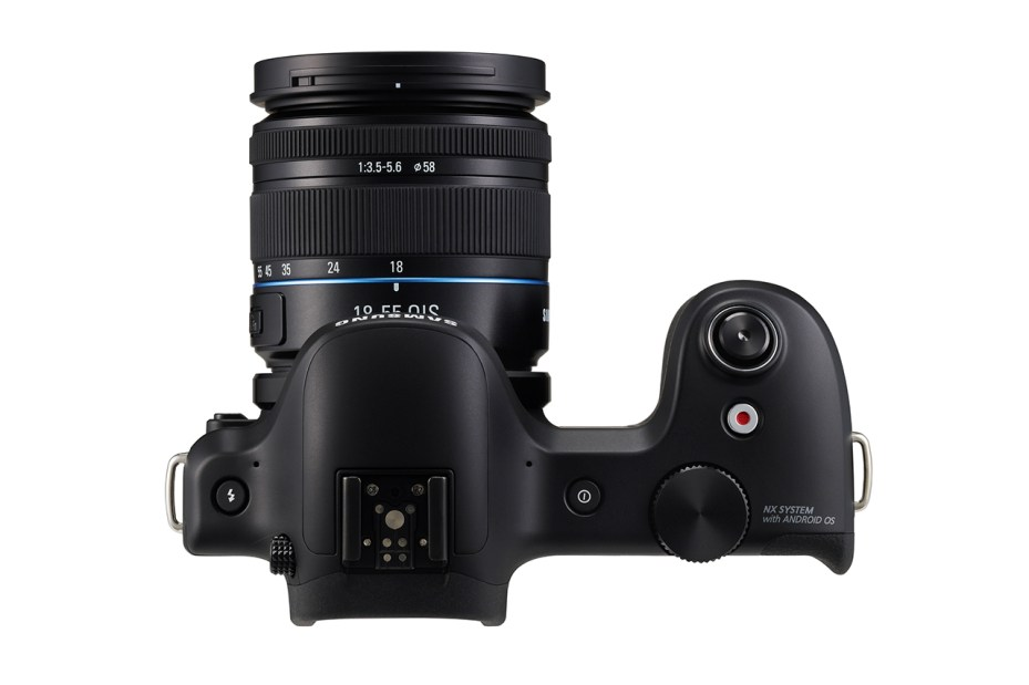 Image of Samsung Announces Android-powered Galaxy NX 20MP Mirrorless Camera