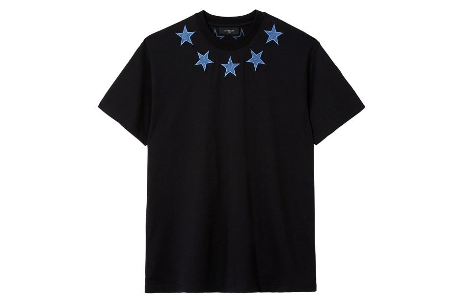 Image of Selfridges x Givenchy Denim-Star T-Shirt
