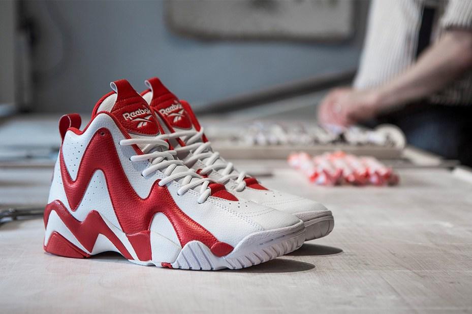 """Image of Sneakersnstuff x Reebok Kamikaze II Mid """"Polkagris"""""""