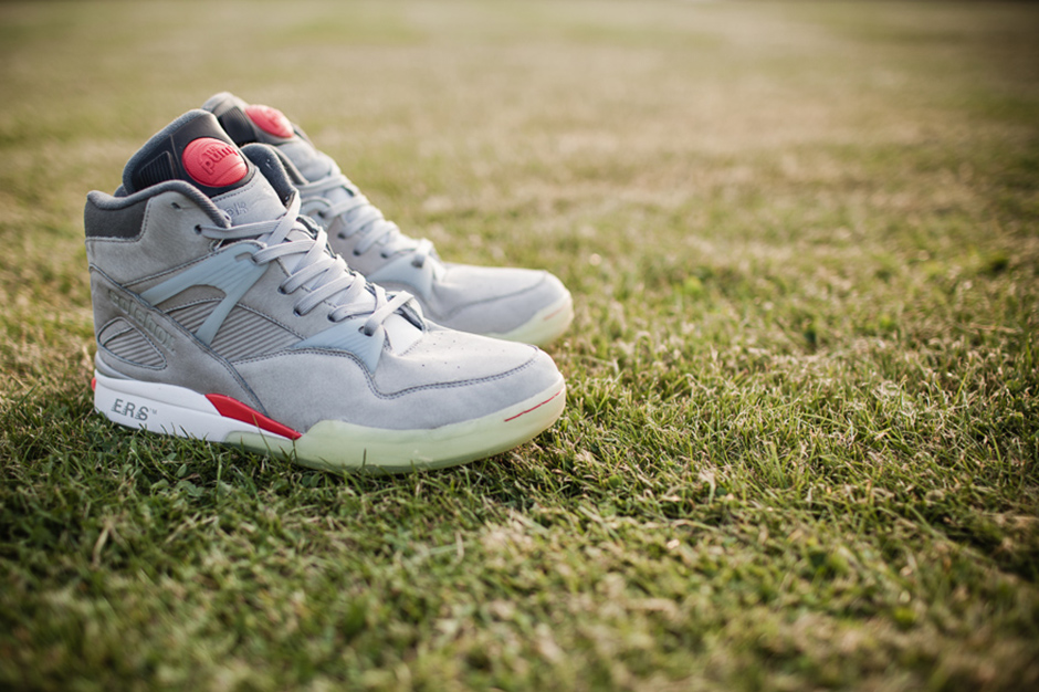 Image of Solebox x Reebok OmniZone Pump Butter Grey/Reflective Silver