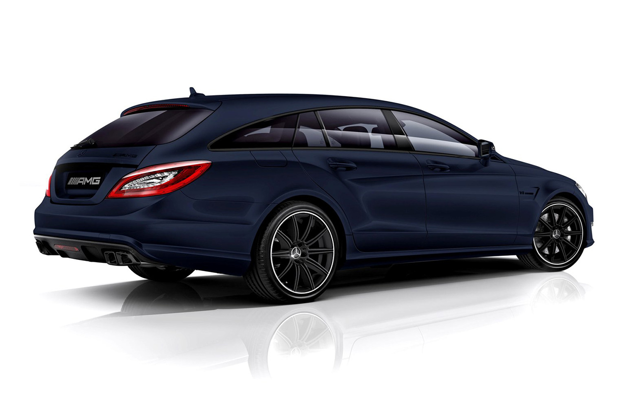 Image of Spencer Hart's Tailor Made Mercedes-Benz CLS 63 AMG