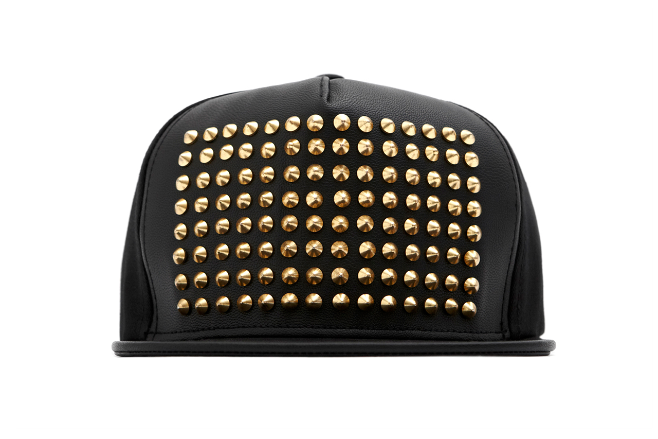 Image of Stampd Leather Studded Snapback Collection