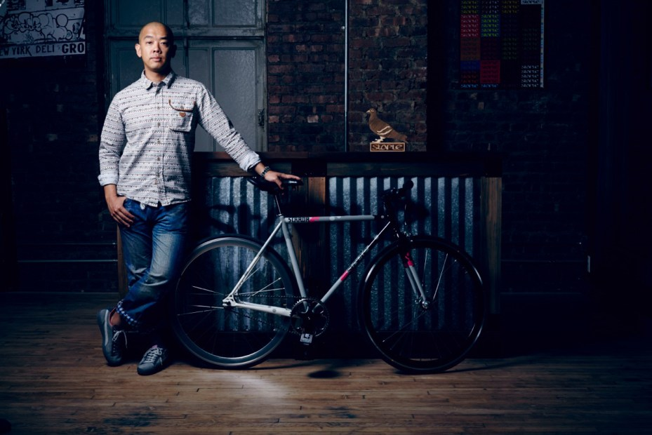 Image of Staple Design x Strada Customs Trackster Bicycle