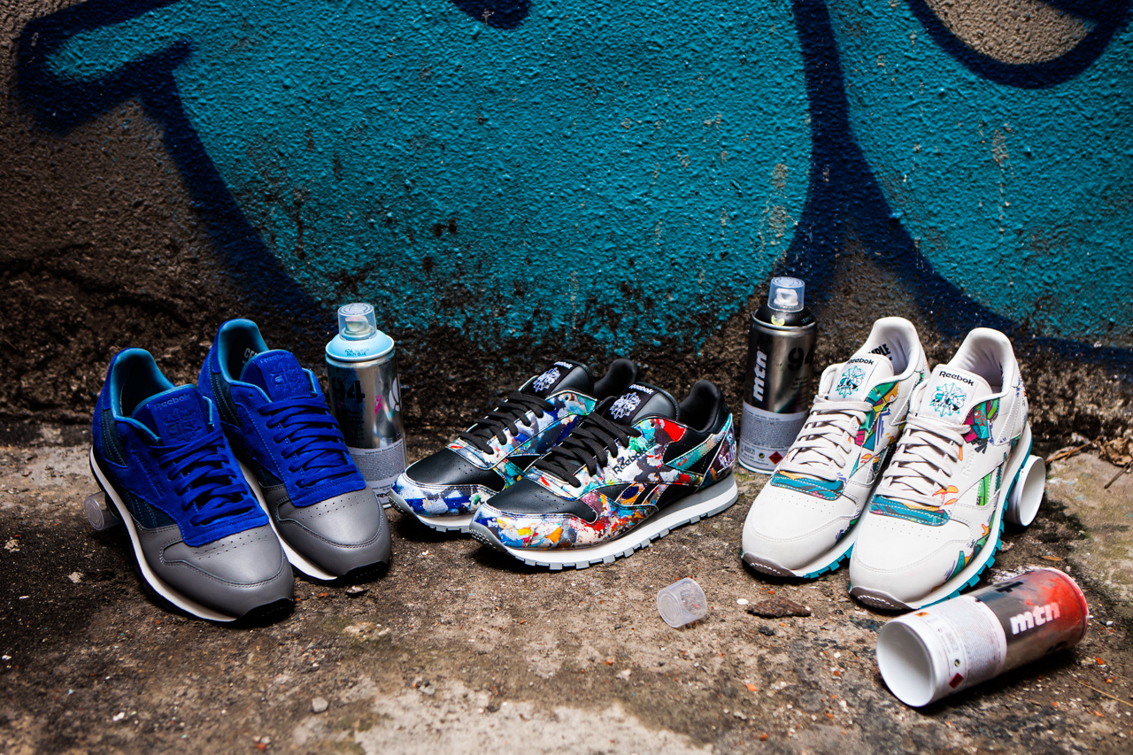 Image of Stash and Reebok Classic Present the City Series featuring Select Artist Collaborations
