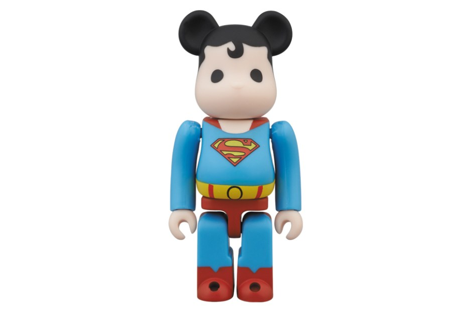 Image of Superman x Medicom Toy 100% Bearbrick