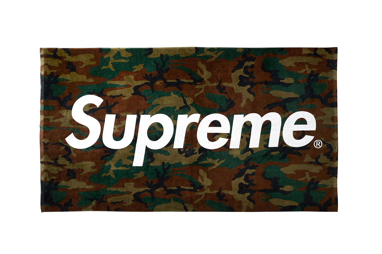 Image of Supreme Camo Beach Towel