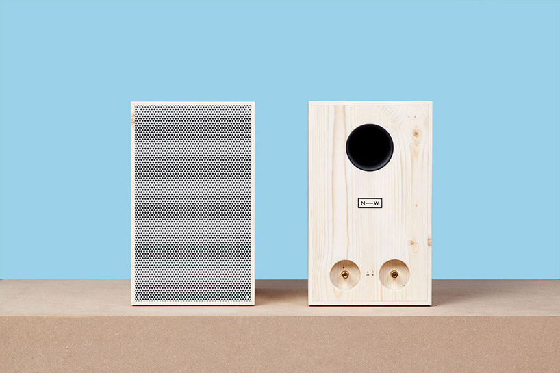 Image of Sustainably Harvested Wooden Speakers by Neue Werkstatt