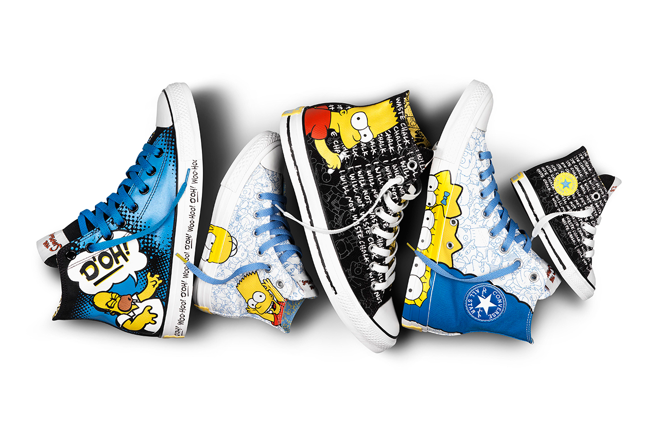 Image of The Simpsons x Converse Chuck Taylor All Star Collection