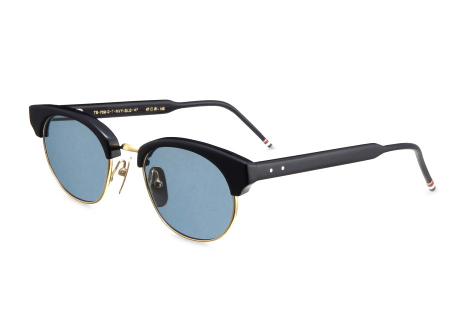 Image of Thom Browne 2013 Spring/Summer Round Gold Frame Sunglasses