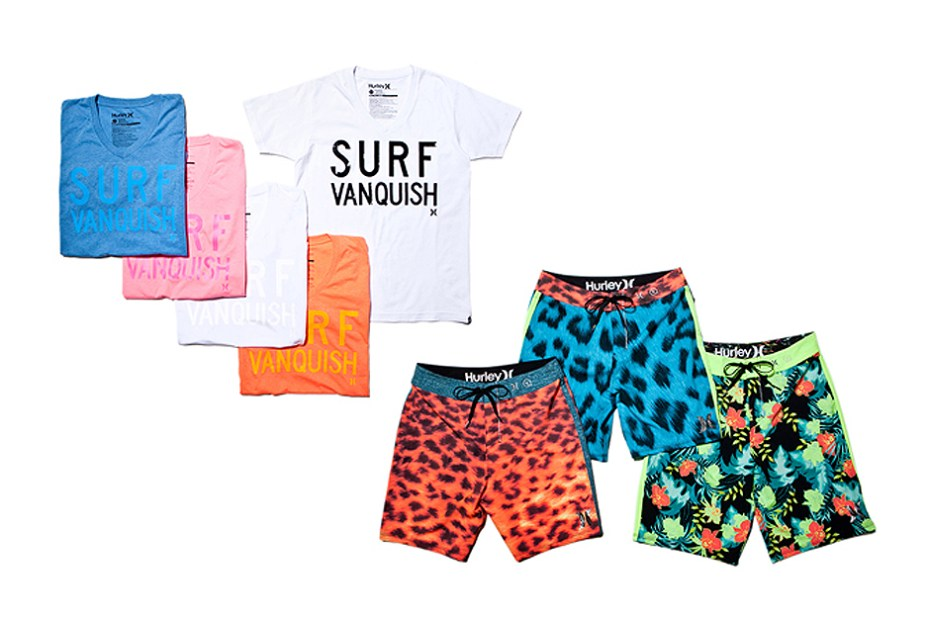 Image of VANQUISH x Hurley 2013 Summer Collection