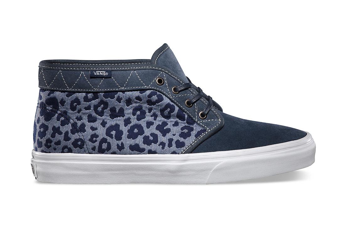 "Image of Vans California Chukka Boot CA ""Leopard Camo"""