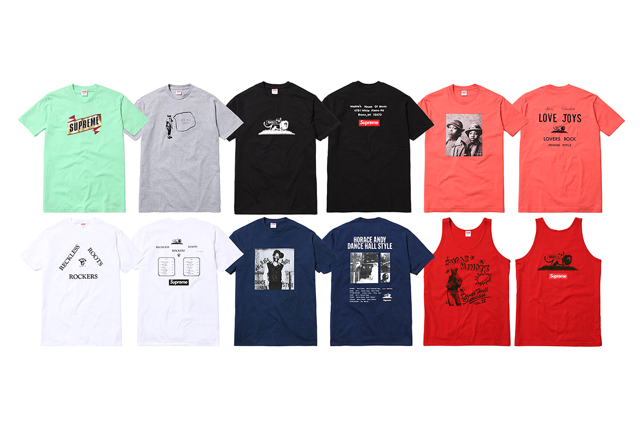 Image of Wackies x Supreme 2013 Capsule Collection