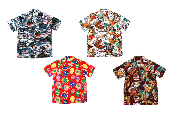 Image of WACKO MARIA for UNITED ARROWS & SONS Aloha Shirt Collection