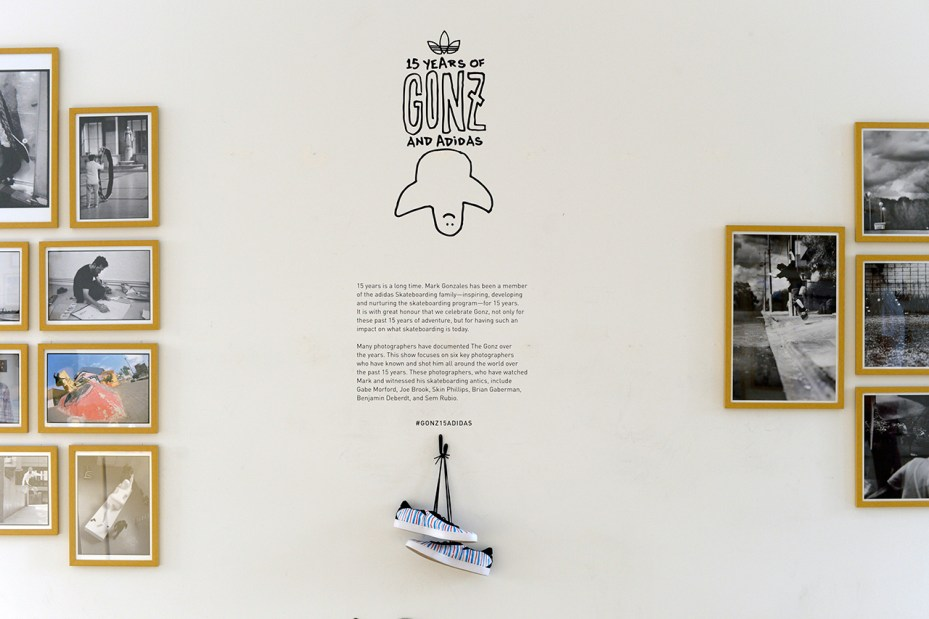Image of 15 Years of Gonz and adidas Exhibition Recap