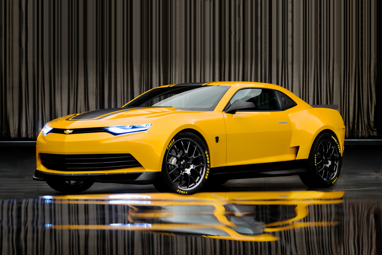 "2014 Chevrolet Camaro is New Transformers 4's ""Bumblebee"" 