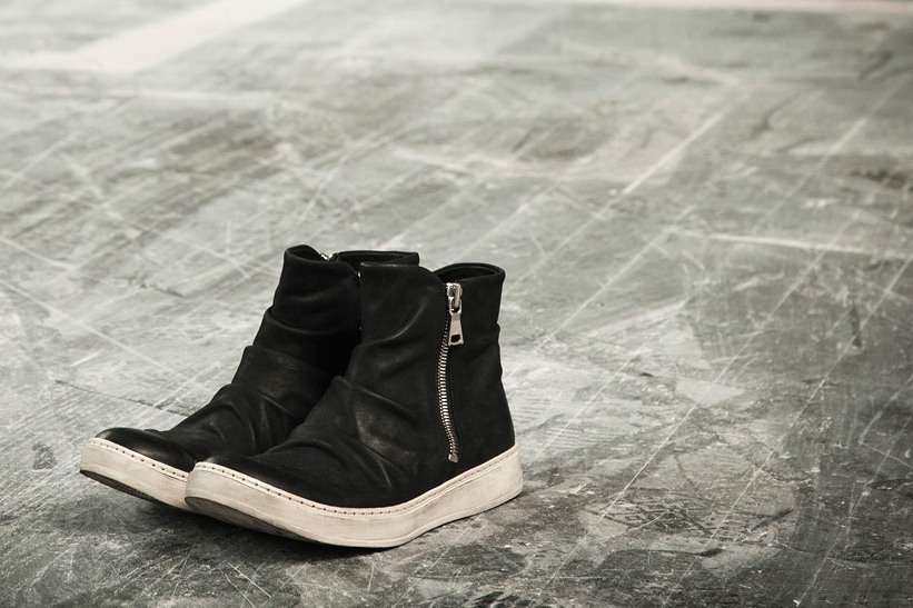 Image of John Varvatos 315 Mac Double Zip Sneaker