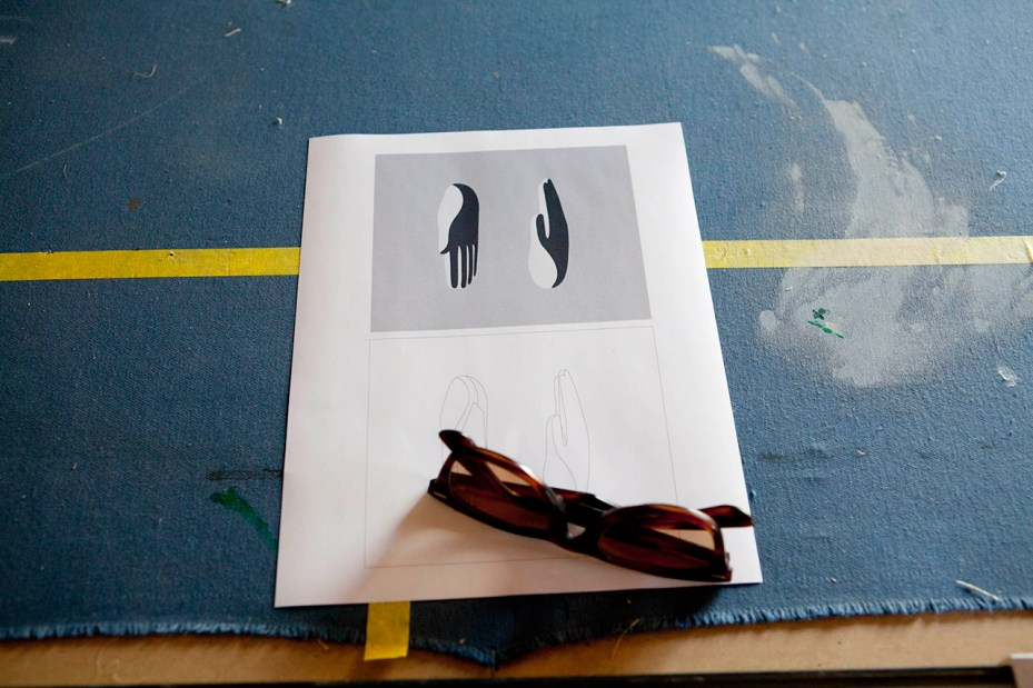 Image of A Look Inside Geoff McFetridge's Studio
