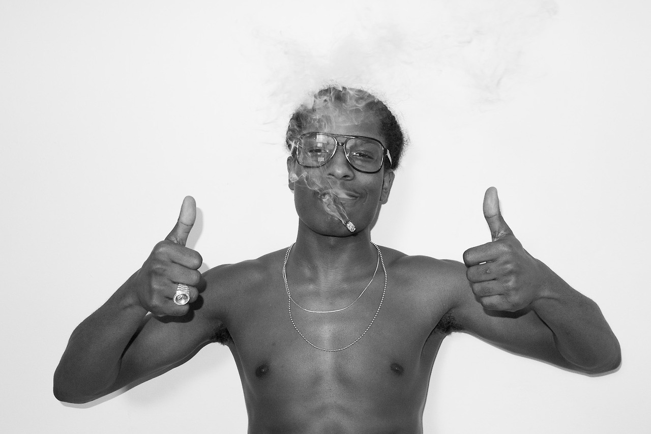 Image of A$AP Rocky Visits Terry Richardson's Studio