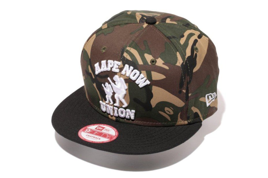 "Image of  AAPE by A Bathing Ape 2013 ""Camo Scout"" Collection"