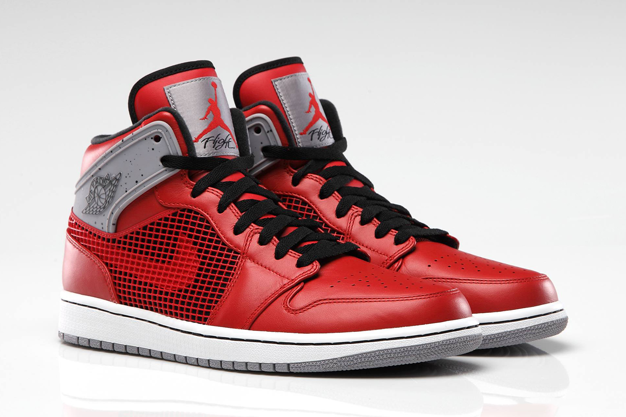 Image of Air Jordan 1 '89 Fire Red/Cement Grey