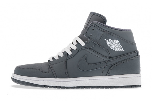 Image of Air Jordan 1 Mid Cool Grey/White