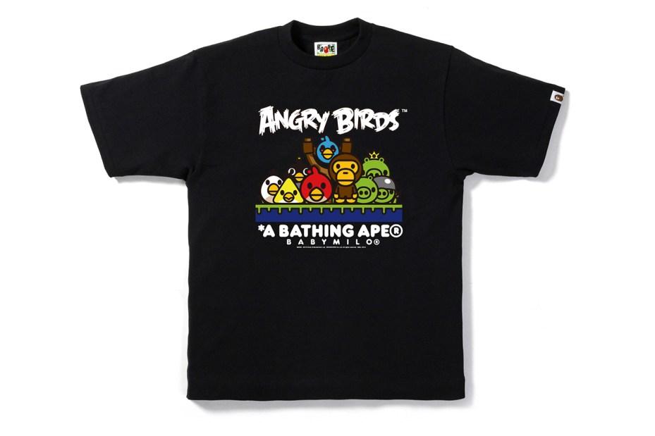 Image of Angry Birds x A Bathing Ape BABY MILO Tee