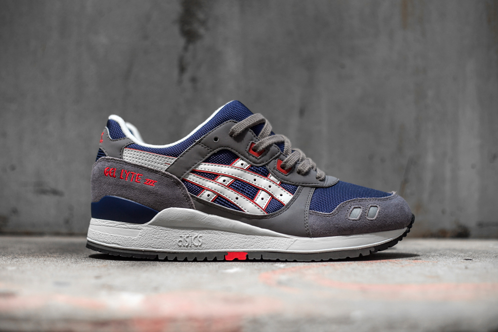 Image of ASICS Gel Lyte III Grey/Navy