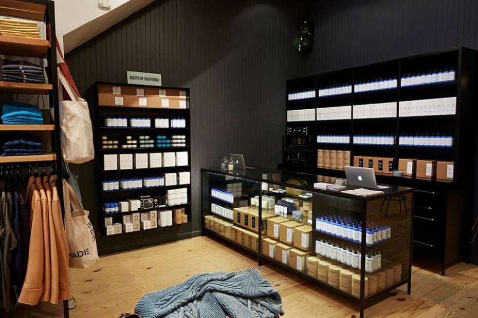 Image of Baxter of California Shop-in-Shop at UNIONMADE San Francisco