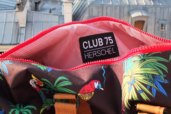 Image of Club 75 x Herschel Supply Co. 2013 Capsule Collection