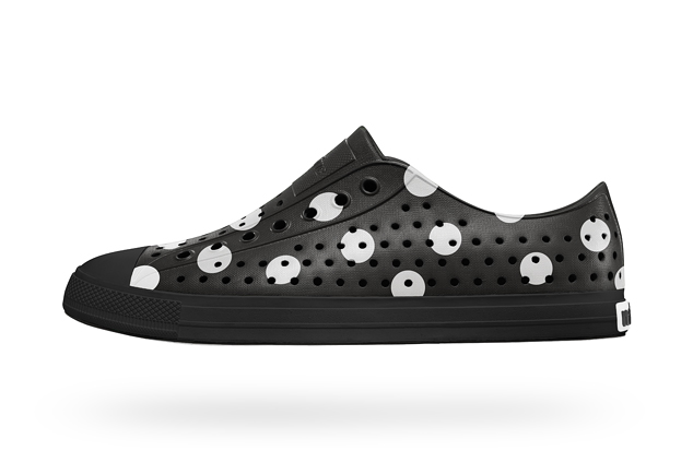 Image of COMME des GARCONS x Native Shoes Jefferson Polka Dot