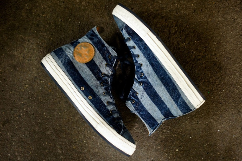 Image of Converse First String Chuck Taylor Premium Stripes Navy