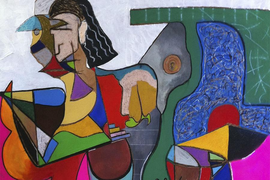 "Image of Dave Ortiz ""The 20 Year Retrospective"" Exhibition"