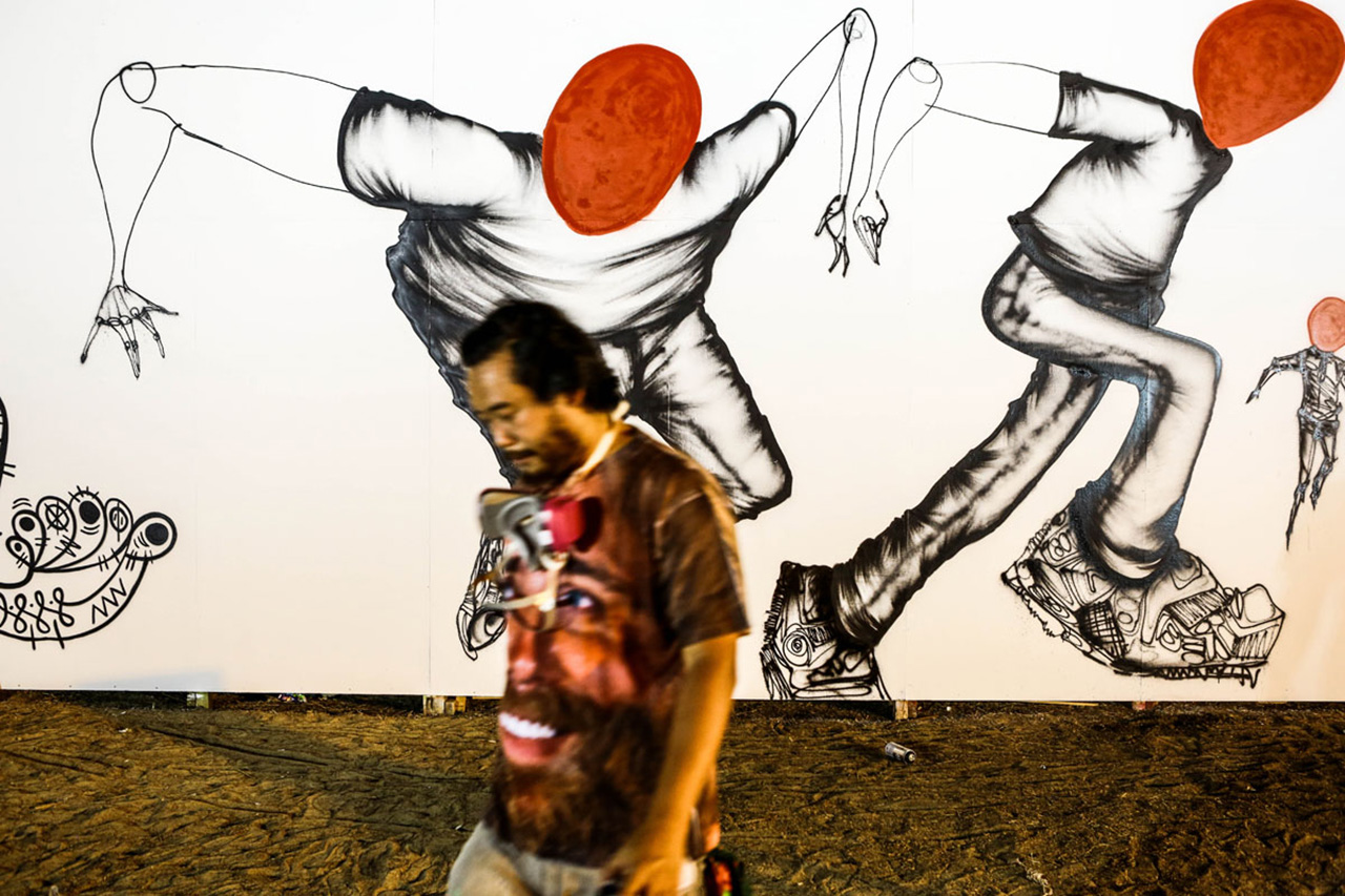 Image of David Choe and Estevan Oriol Travel to Afghanistan with Juxtapoz